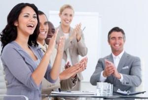 audience applauding_presentation skills