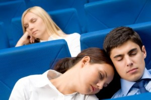 audience sleeping_improve presentation skills